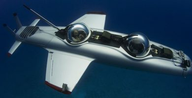 super falcon submarino de lujo