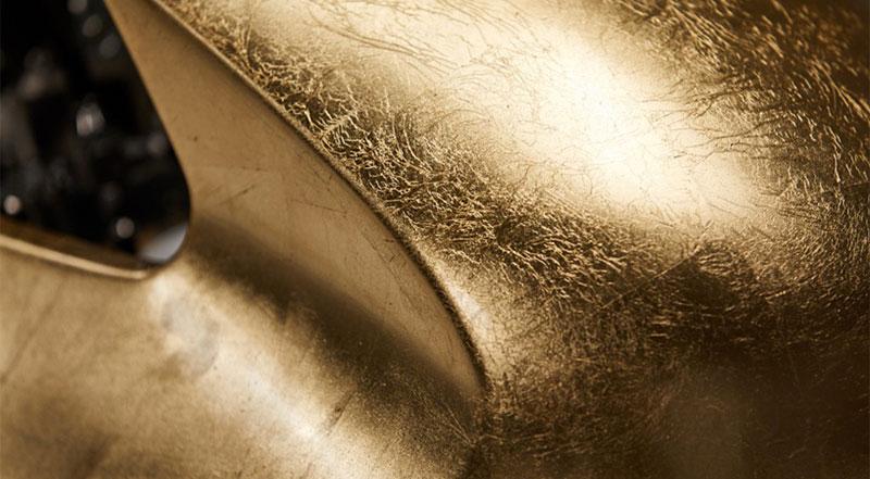 carcasa moto Ducati Aellambler Scrambler de Oro