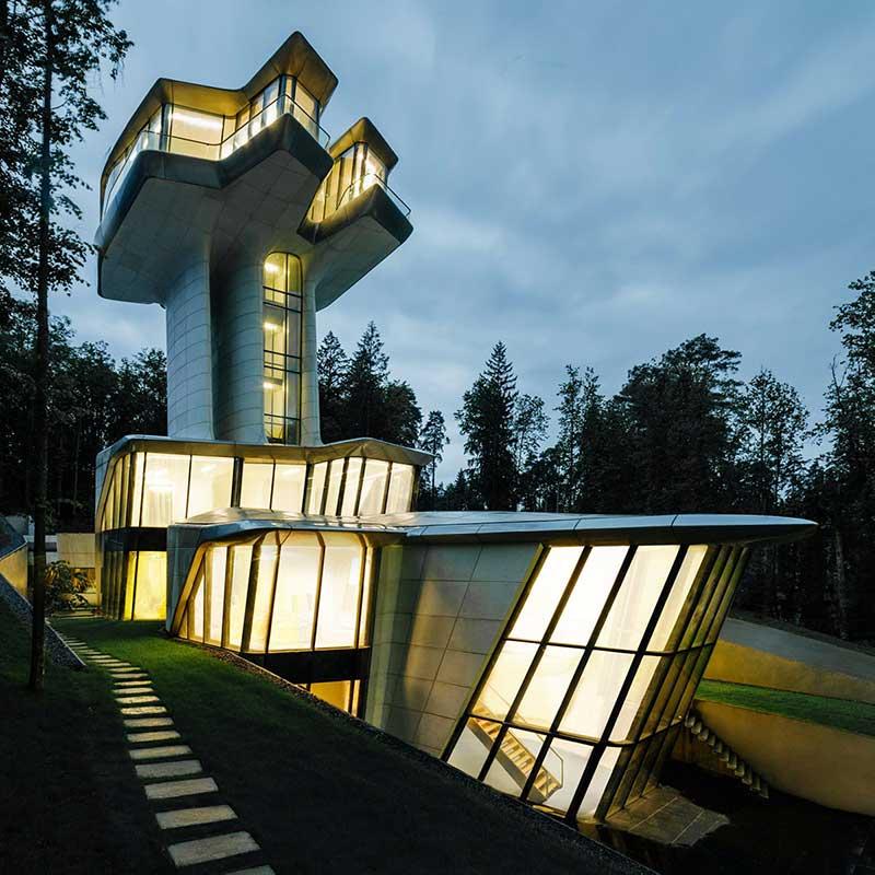 Capital Hill Residence por Zaha Hadid