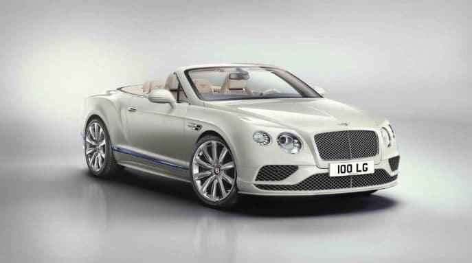coche descapotable Bentley Continental GT Convertible Galene Edition