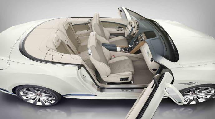 asientos descapotable Bentley Continental GT Convertible Galene Edition