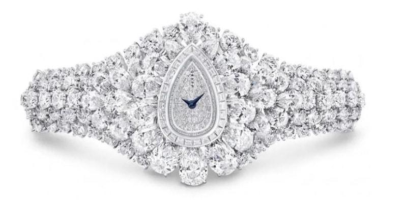 reloj de mujer con diamantes