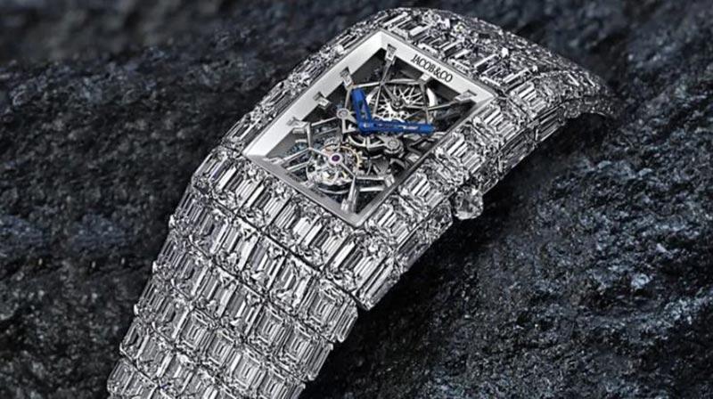 reloj con diamantes